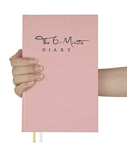 The 6-Minute Diary   6 Minutes a Day for More Mindfulness, Happiness and Productivity   A Simple and Effective Gratitude Journal and Undated Daily Planner   The Perfect Gift (Dusty Rose)