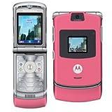 Motorola RAZR V3 Pink Mobile Phone Unlocked Sim Free - BUBBLE GUM PINK