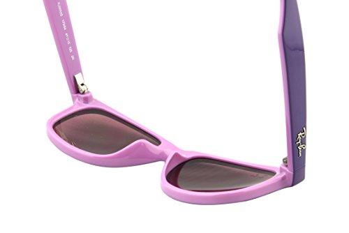 Ray-Ban Junior - Lunette de soleil RB9052S Enfant Violet/Pink