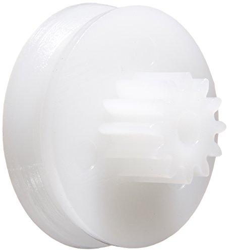 uxcell, a14031300ux0020, 2 millimetri, 12 denti, ondulato, plastica, giocattolo di RC puleggia del motore, a 15 mm, 20 pezzi - 4.5 Pulley