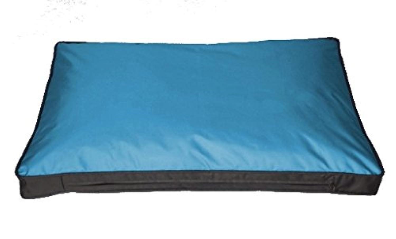 Housse de coussin pour coussin pour chien Outdoor 120 x 80 cm Bleu ...