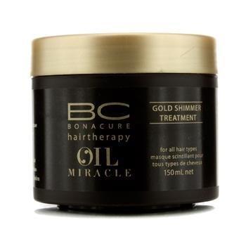 Schwarzkopf Professional BC Bonacure Miracle Oil Gold Shimmer Treatment 150ml by Schwarzkopf BEAUTY (English Manual)