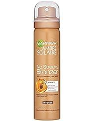 Garnier Ambre Solaire No Streaks Bronzer Dark Self Tan Face Mist, 75 ml