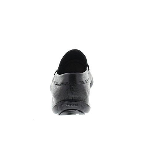 FRAU 14N4 homme noir chaussures mocassins en cuir Nero