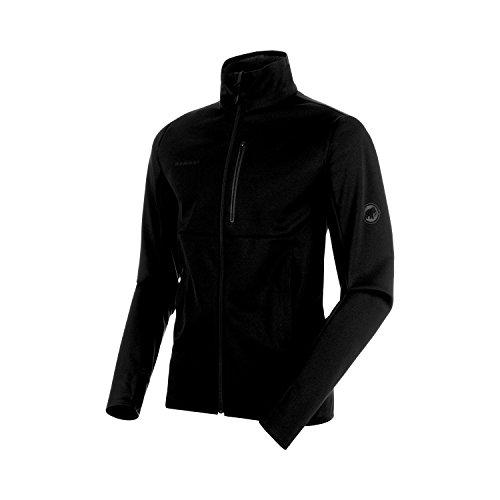 Mammut Herren Softshell-Jacke Ultimate V, schwarz (black-black), L