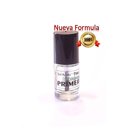 Primer Bonder 7ml -Sin Acido- Desengrasante fijador - Professional - Blucc Style