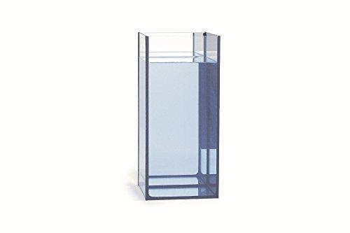 BEEZTEES Säulen Aquarium Spiegelglas 12 Liter 18 x 18 x 40cm #0851850