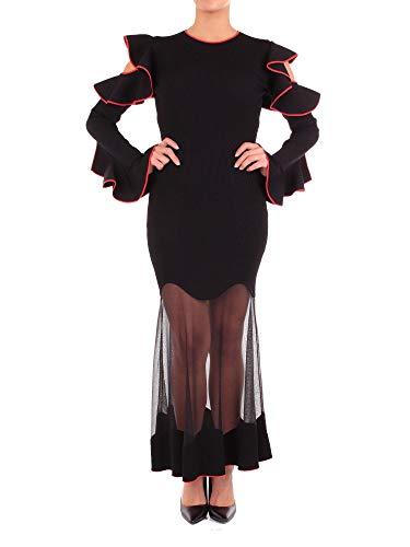 Alexander McQueen Damen 532083Q1wpw1139 Schwarz Viskose Kleid