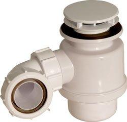 PKE Pro.Spec Abgewinkelte Stifte Geruchverschluss, 50 mm 70 mm Seal Mushroom Flansch, Weiß 3  F6