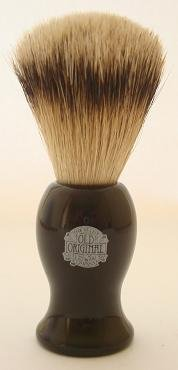 Progress Vulfix 660S Large Super Badger shaving brush, Black colour