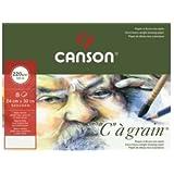 Canson papier à dessin C à grain, format A3, 220 g/qm,