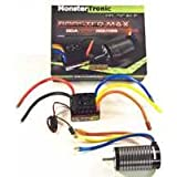 Monstertronic Booster MAX Combo 6S 150A 2650KV 1:8 Brushless Set waterproof