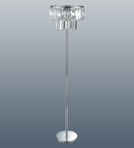 Great Buy for Chichester Acrylic Chandelier Floor Lamp Special