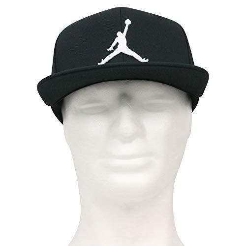 Nike Jordan PRO Jumpman Snapback Hat, Black/White, MISC Jordan Black Hat