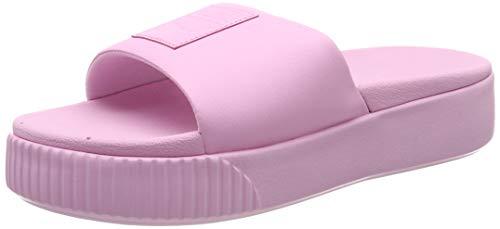 Puma Damen Platform Slide Wns Badeschuhe, Pink (Pale Pink-Pale Pink), 42 EU