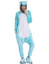 8aff69330e UMIPUBO Pijamas Unisexo Adulto Cosplay Traje Disfraz Adulto Animal Pyjamas  Ropa de Dormir Halloween y Navidad