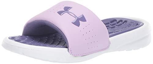 Under Armour Kids' Girls' Playmaker Fix Slide Sneaker (Schuhe Armour Kleine Kinder Under)