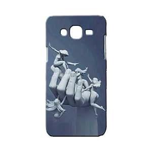 BLUEDIO Designer 3D Printed Back case cover for Samsung Galaxy J7 - G4575