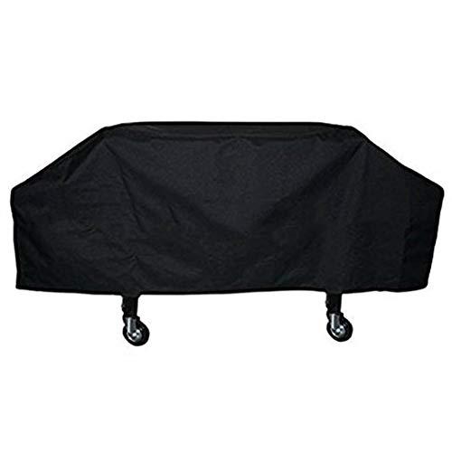 YANZHEN Housse Protection Salon De Jardin Tissu Oxford En PVC Anti-poussière Imperméable, Anti-UV Et Anti-déchirure Pour Barbecue, 600D (Color : Black, Size : 168x57x66cm)