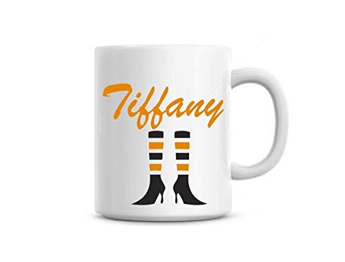 Ethelt5IV Kaffeetasse Tasse Hexe Gebr?u Hexe Beine Lustiges Geschenk Benutzerdefinierter Name Kostenlose Halloween