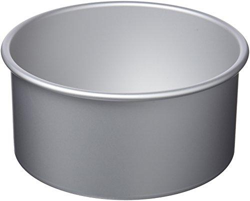 IBILI Kuchenform rund/extra hoch 20x10 cm, Aluminium, Silber, 20 x 10 cm Panettone Form