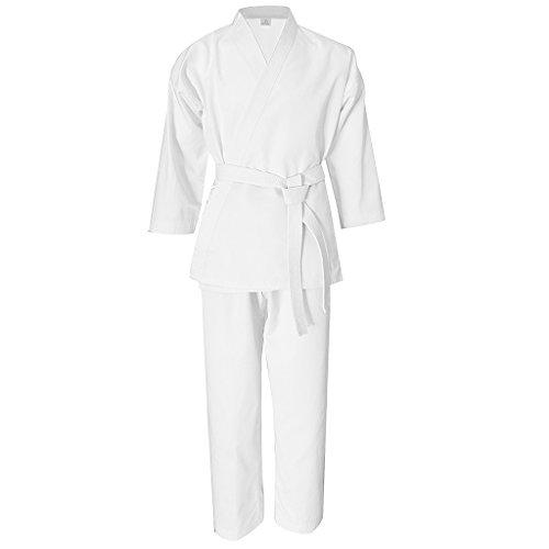 Sharplace Karateanzug Karate Anzug mit Weißen Gürtel für -