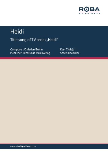 Heidi (Instrument: Recorder)