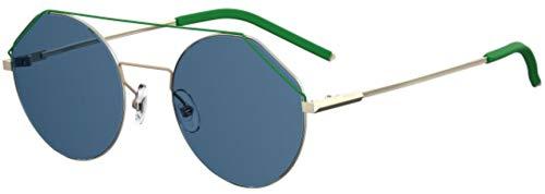 Fendi Sonnenbrillen FENDIFIEND FF M0042/S Light Gold/Blue Herrenbrillen