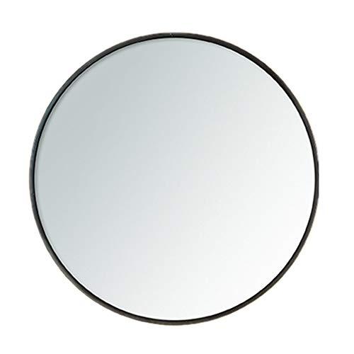 Spiegel, Badezimmerspiegel Runder Schmiedeeisenrahmen Vanity Mirror Sink Wandspiegel mit Rand