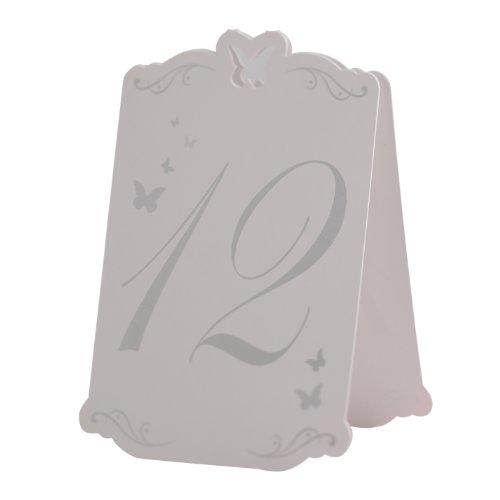 Schmetterling Tischnummern 1-12 - 3