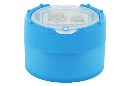 KUM AZ102.87.19-B Doppelspitzer Click Snap M2 B aus Magnesium mit Staubverschluss, 1 Stück, blau