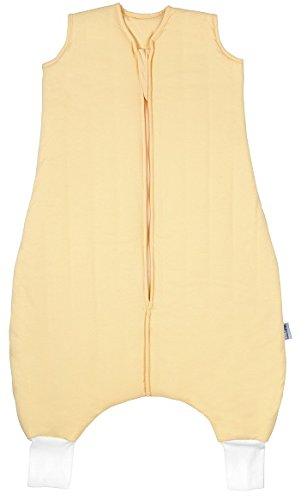 Schlummersack Ganzjahres Schlafsack mit Füssen 2.5 Tog - Gelb - 12-18 Monate/80 cm -