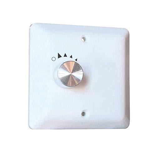 Hunter Industrie II 33026-Ventilateur de plafond 3pales, chrome mat