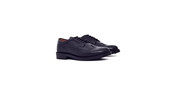 c086c1dbeae G.H. Bass Co. Monogram Triple Welted Longwing Grain Brogue Black - Black -  11  Amazon.co.uk  Shoes   Bags