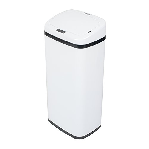 Beldray Cubo Basura Redondo Sensor BW07022SSGP, Blanco