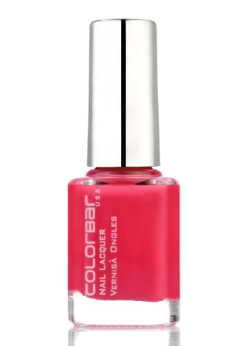 Colorbar Exclusive Nail Paint, Sizzling Pink, 9ml