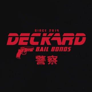 TEXLAB - Deckard Bail Bonds - Langarm T-Shirt Dunkelblau