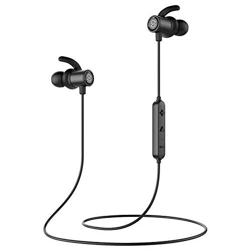 SoundPEATS Auriculares Bluetooth 4.1 Cascos inálambrico Deportivos, Resistente al Sudor IPX4 ,...