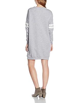 New Look Women's Varsity Double Stripe Long Sleeve Dress