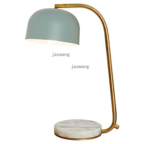 5151BuyWorld Lampe Nordic Postmodernen Luxus Tischlampe Top Quality American Kreative Schlafzimmer Bett Schreibtisch Licht Retro Studie Marmor Nachttischlampe Luminaria De Mesa {Green} -