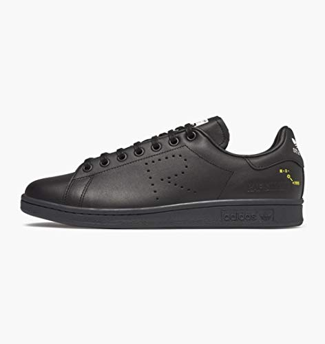 ADIDAS X RAF Simons Sneakers Stan Smith in Pelle F34257 Black Size:7