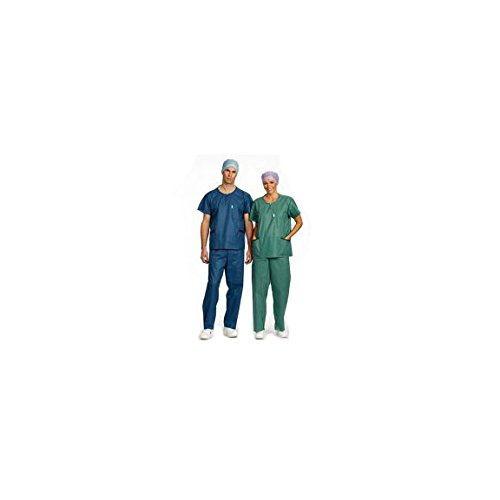 Barriere 21710Scrub Anzug Extra Komfort scrub-trousers, klein, blau (48Stück)