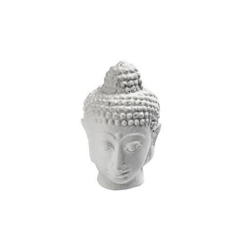 Buddha en plâtre Petite tête - Powertex