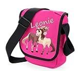 TTS Kindergartentasche Pferde mit Namen Farbe Pink