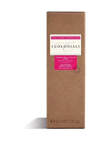 I Coloniali The Blossom Route 50 ml di olio di crusca di riso crema di mano Vellutazione
