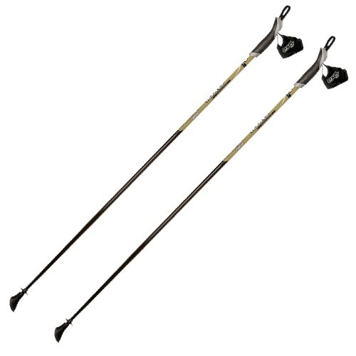 exel Nordic Walking Stock Black Poison gold