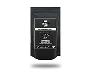 Instant Genius Coffee™ Nootropic Infused Instant Coffee Created to Improve Focus, Memory, Cognitive Function and Assist Brain Health