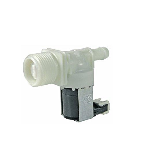 Magnetventil Aquastopventil Einlaufventil Füllventil 1-fach 180° 11,0mmØ Spülmaschine Geschirrspüler Original Whirlpool Bauknecht 480140102032 für ads adp lpa lvi adg gsx gsu wp mdw adpu gsfm gsip