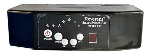 Reverent Air Cooler Remote Box Kit with Fan Speed (converts Mechanical Cooler into Remote Operated Air Cooler)