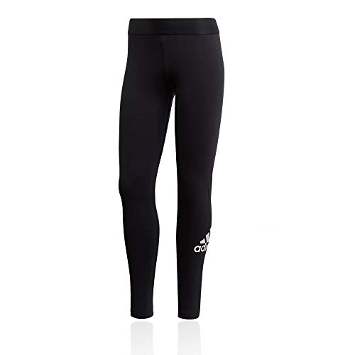 Adidas women's must haves badge of sport tight, leggins donna, nero/bianco, s 40-42